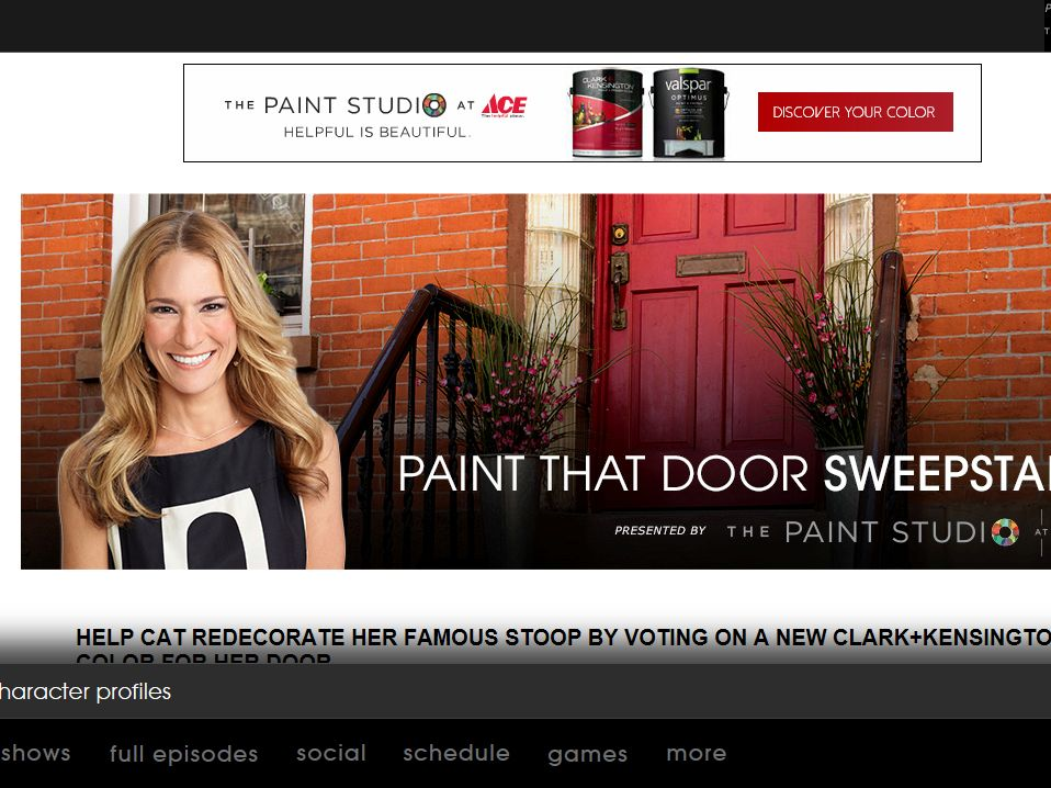 USA Network Paint That Door Sweepstakes