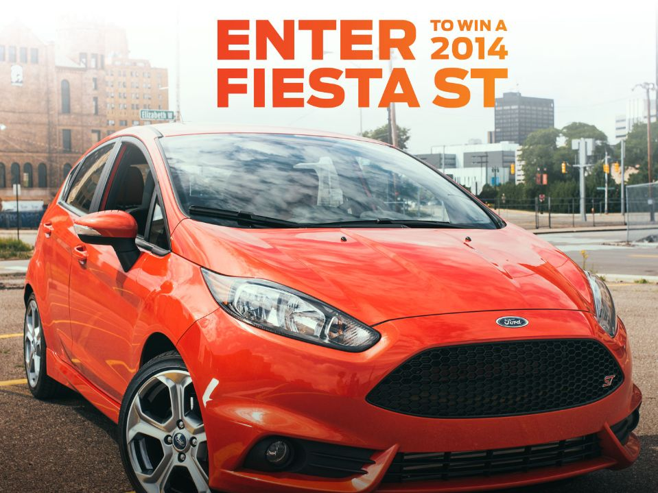 Drift with Ford Sweepstakes