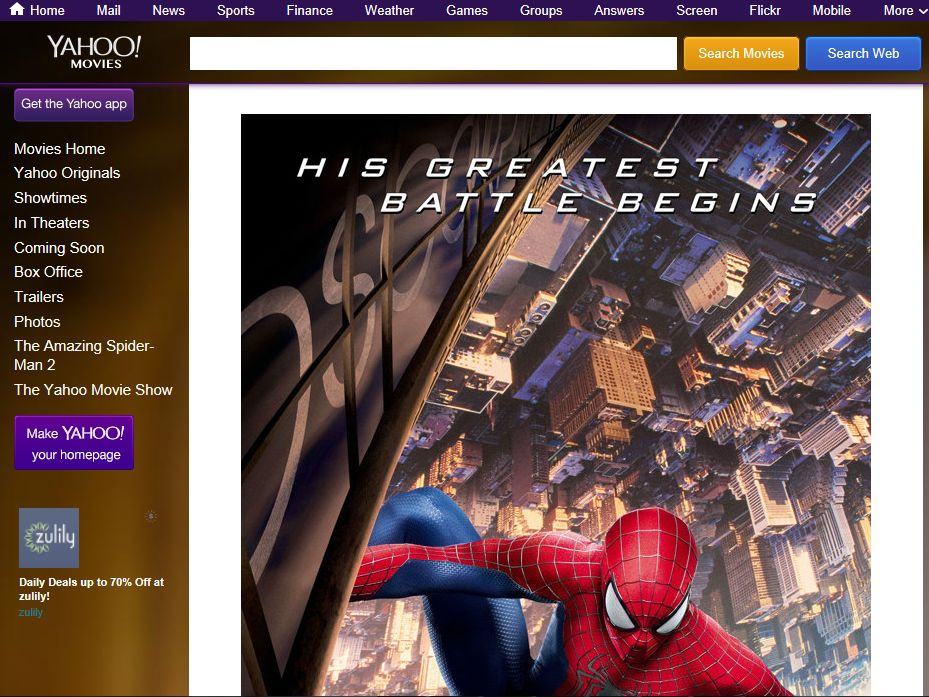 Yahoo! Movies Giveaway: 'The Amazing Spider-Man 2' Sweepstakes