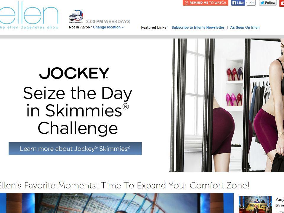Ellen's Jockey Skimmies Contest