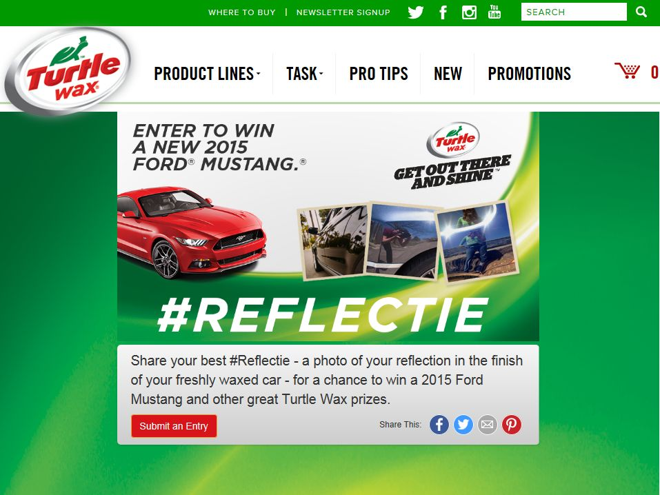 The Turtle Wax #Reflectie Promotion