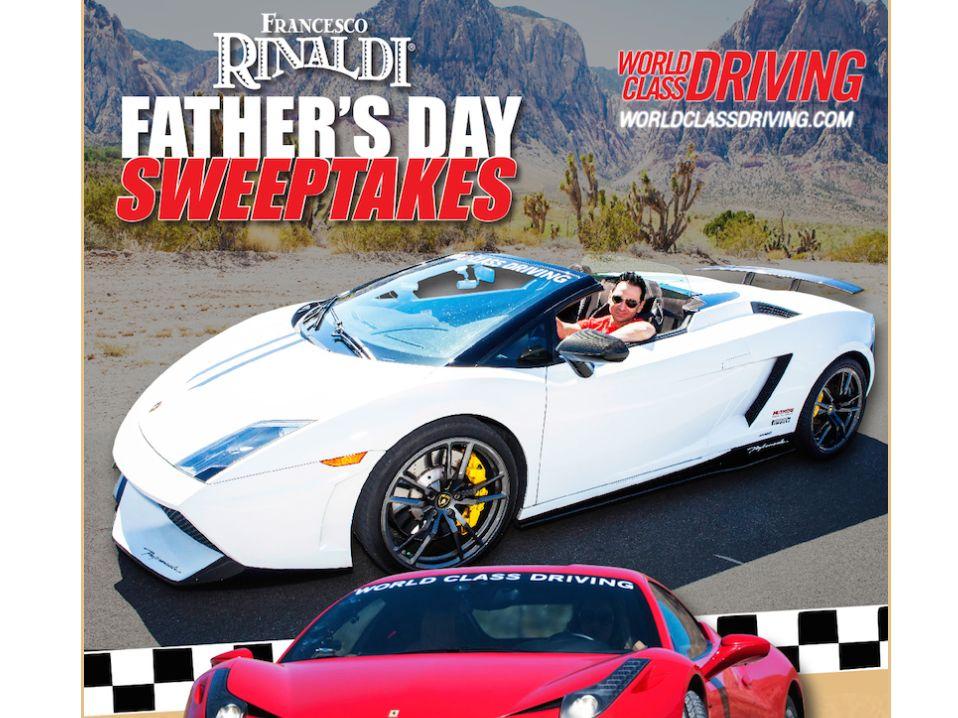 LiDestri/Francesco Rinaldi Father's Day Sweepstakes
