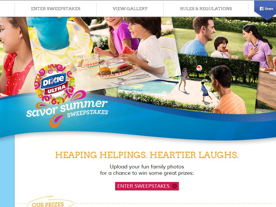 The Dixie Ultra Savor Summer Sweepstakes