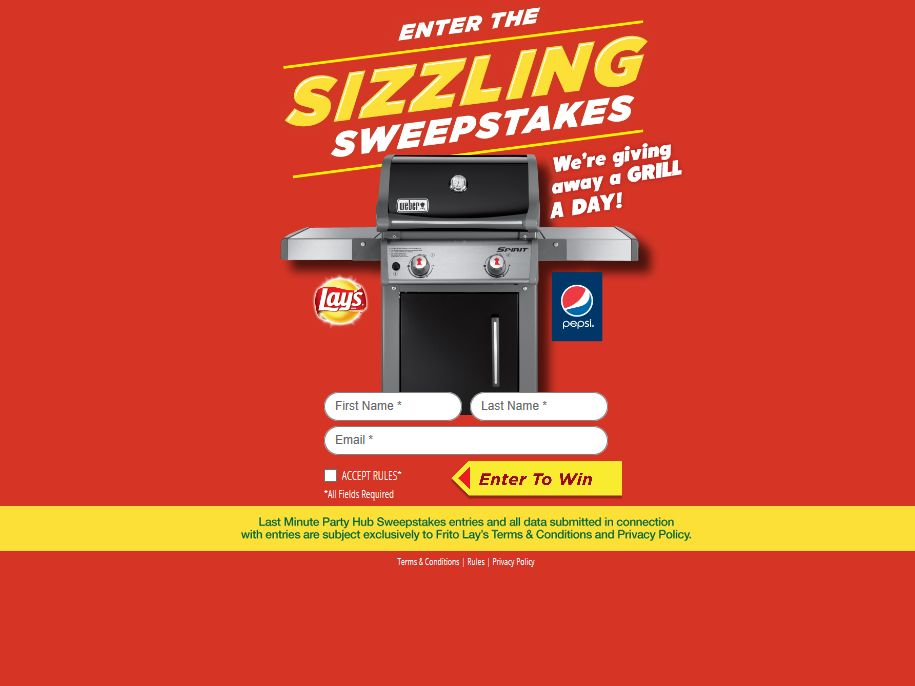 Last Minute Party Hub Sweepstakes at 7-Eleven Sweepstakes