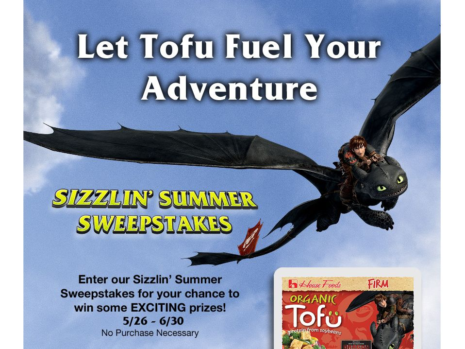 House Foods Sizzlin' Summer Sweepstakes