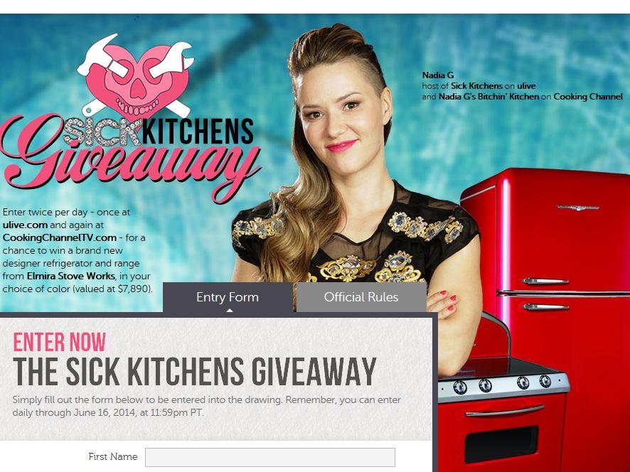 Sick Kitchens Giveaway Sweepstakes