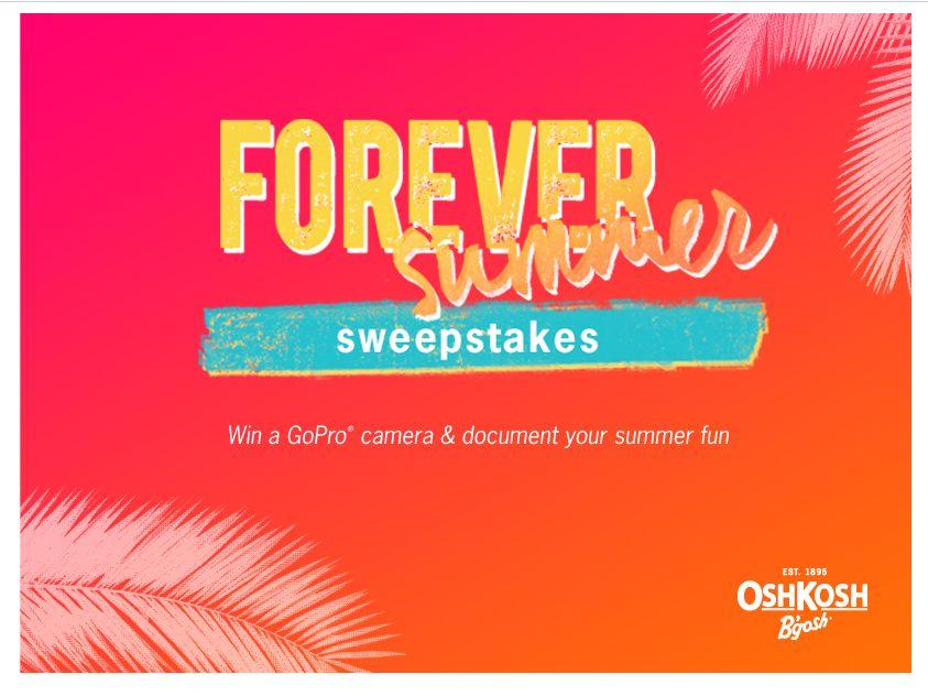 OshKosh B'gosh Forever Summer Sweepstakes