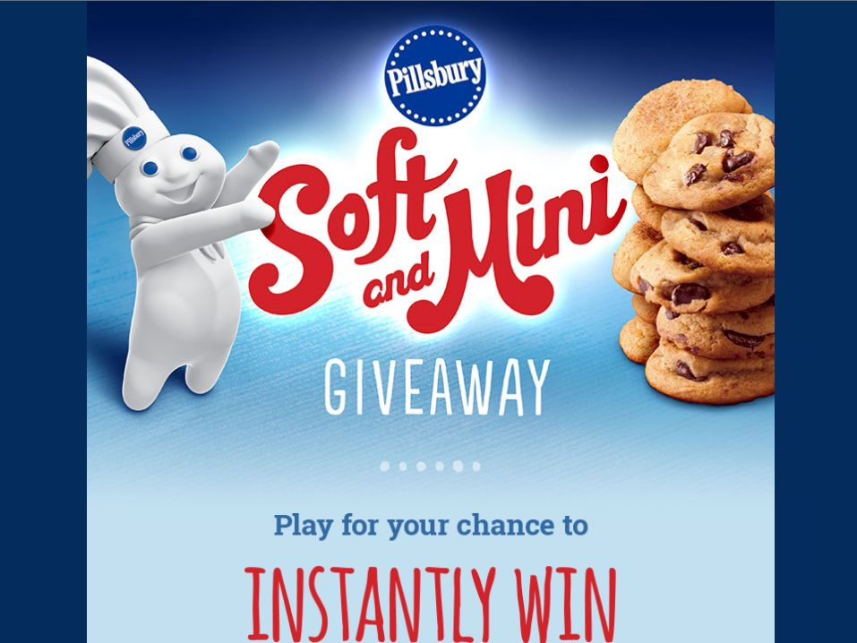 Pillsbury Soft & Mini Giveaway Mobile Instant Win Game