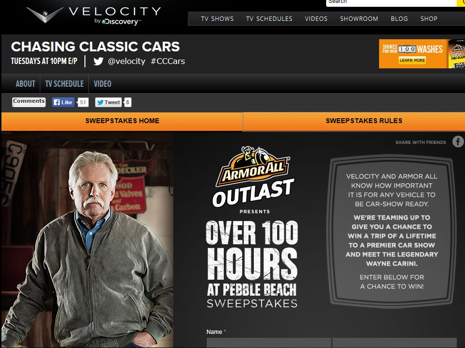 Chasing Classic Cars Over 100 Hours at Pebble Beach Sweepstakes