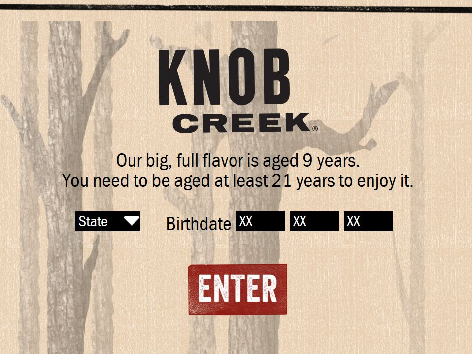"Knob Creek ""Distillery Campout Experience"" Sweepstakes – Select States"