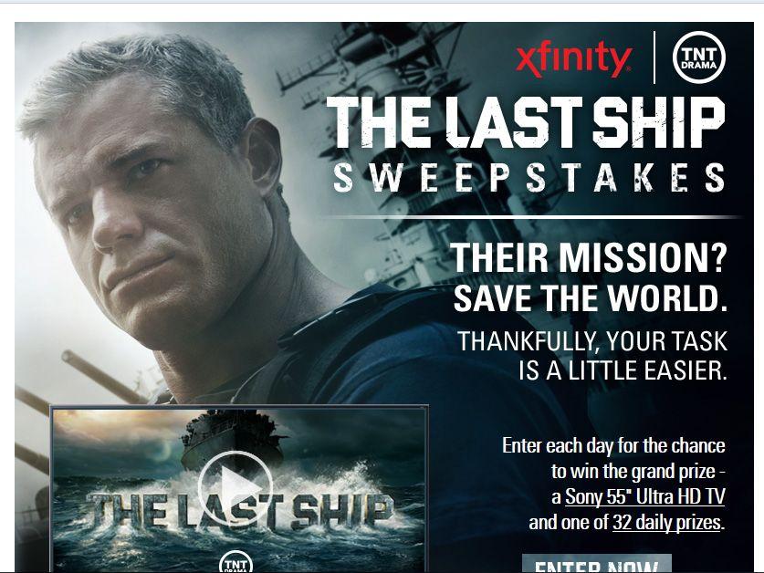 Xfinity The Last Ship Sweepstakes