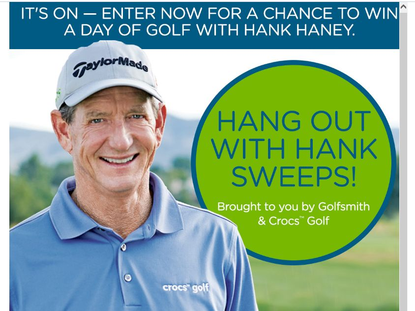 Hang Out With Hank Sweepstakes
