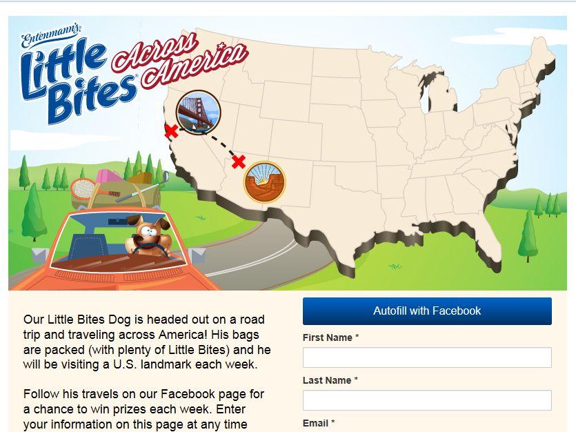 Little Bites Across America Sweepstakes