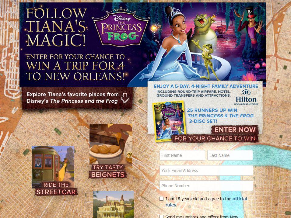 Disney's Follow Her Magic Sweepstakes