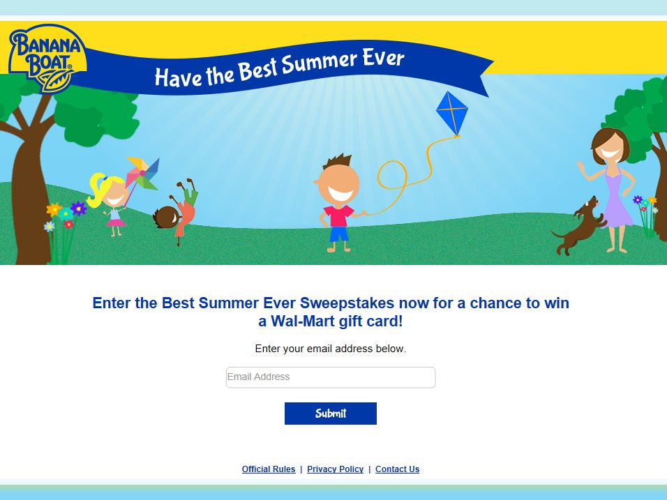 Banana Boat Best Summer Ever Sweepstakes