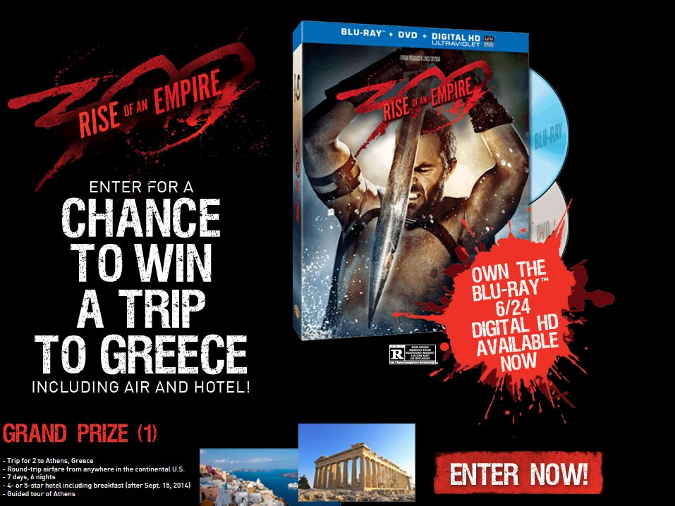 The 300: Rise of an Empire Sweepstakes