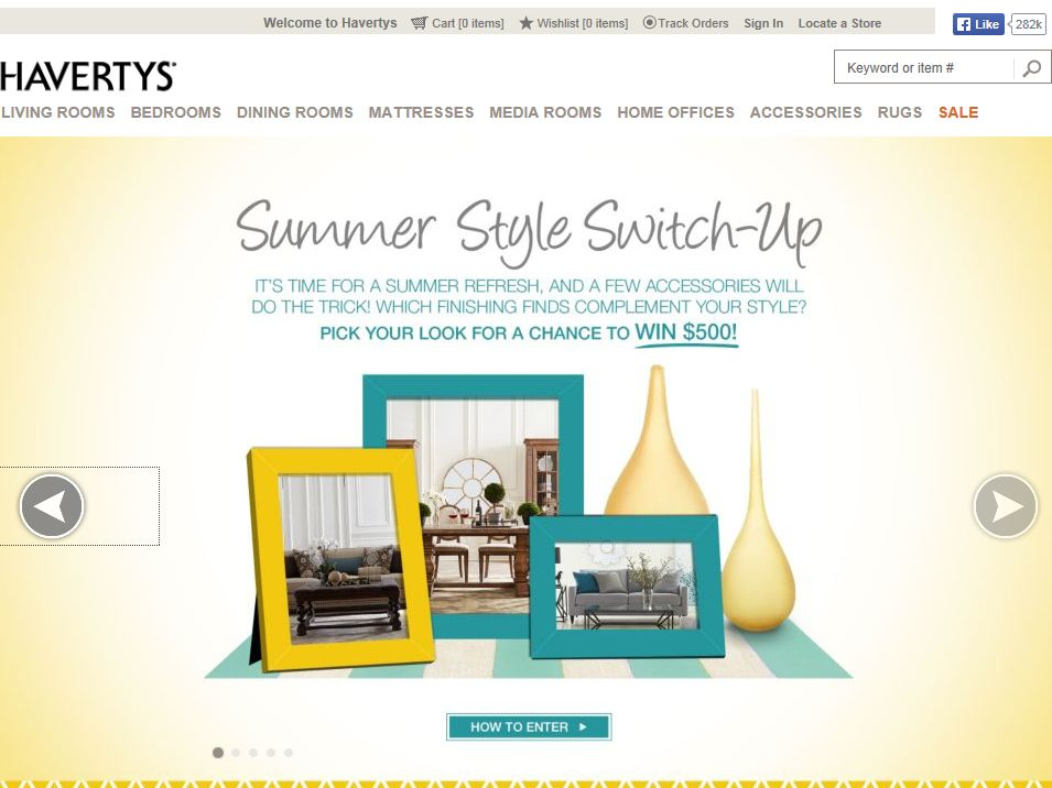Havertys Summer Style Switch-Up Contest