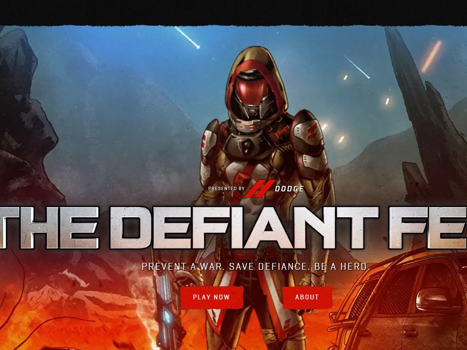The Defiant Few Sweepstakes