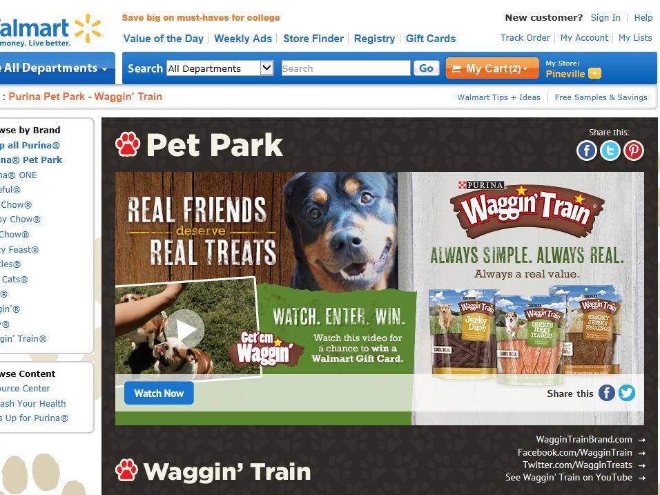 Waggin' Train Get 'em Waggin' Sweepstakes