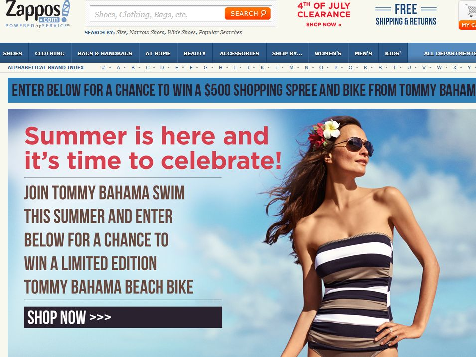 Tommy Bahama Summer Celebration Sweepstakes