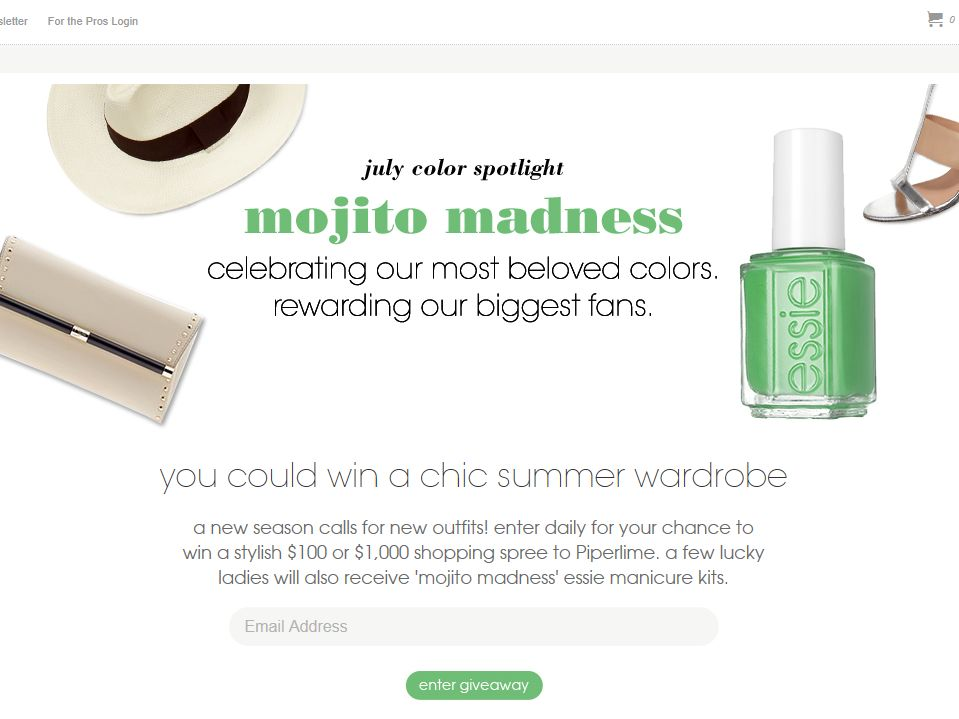 Essie Color Spotlight Sweepstakes