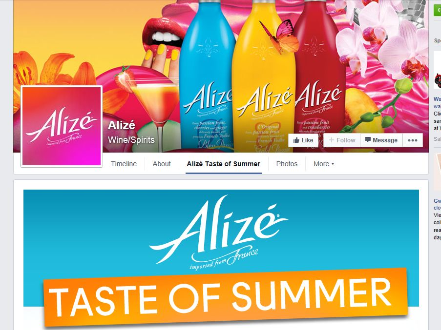 Alize Taste of Summer Sweepstakes
