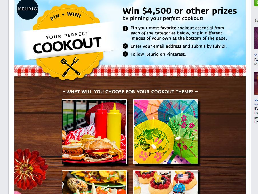 """Keurig """"Your Perfect Cookout"""" Sweepstakes"""
