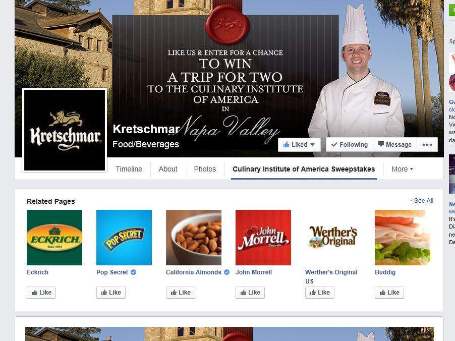 Kretschmar Master Chef Sweepstakes