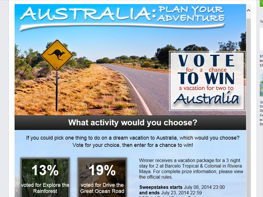 Delta Vacations Australia: Plan Your Adventure Sweepstakes