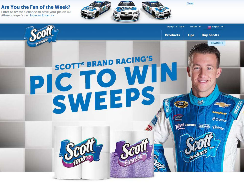 SCOTT Brand Pic to Win Sweepstakes