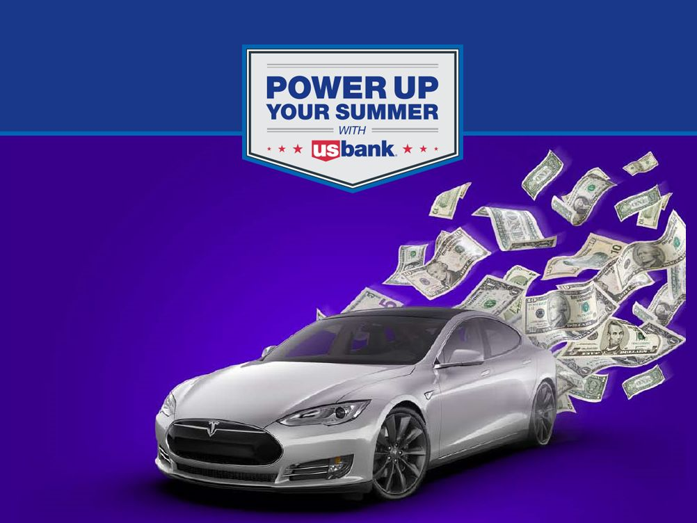 US Bank The Power Up Your Summer Sweepstakes