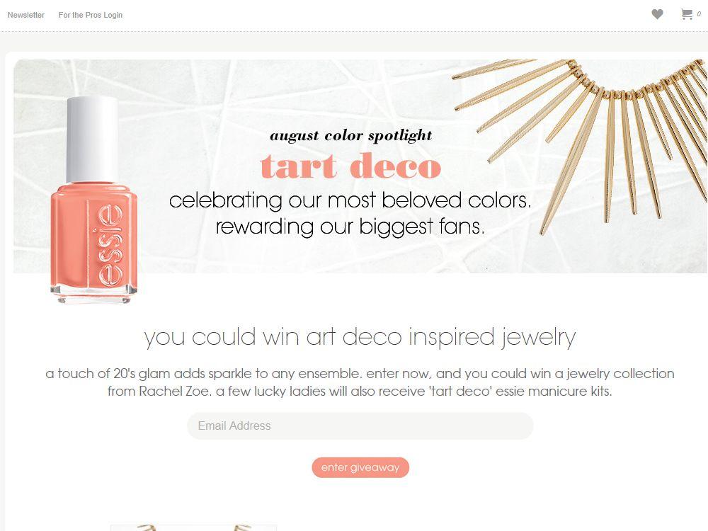 Essie Color Spotlight Sweepstakes