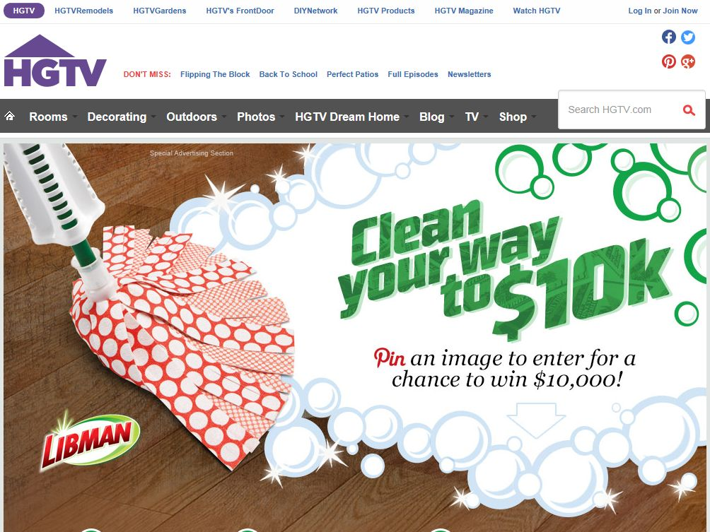 Libman Clean Your Way To $10K Sweepstakes