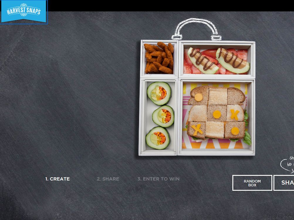 Harvest Snaps Lunchspiration Sweepstakes