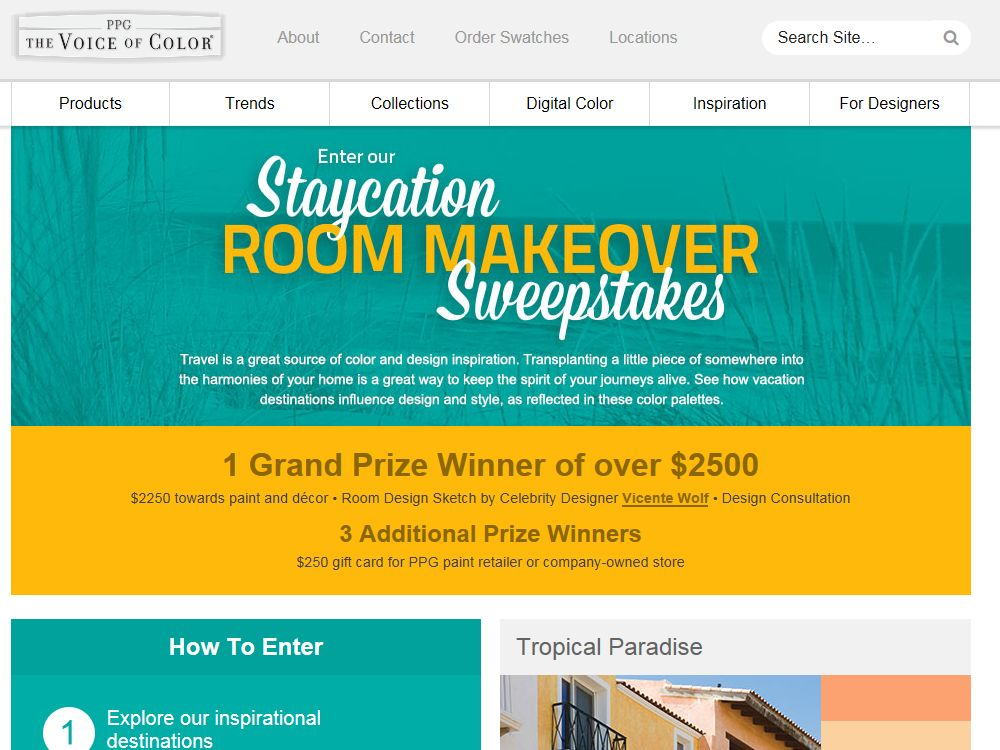 Ppg Voice Of Color Staycation Room Makeover Giveaway Sweepstakes