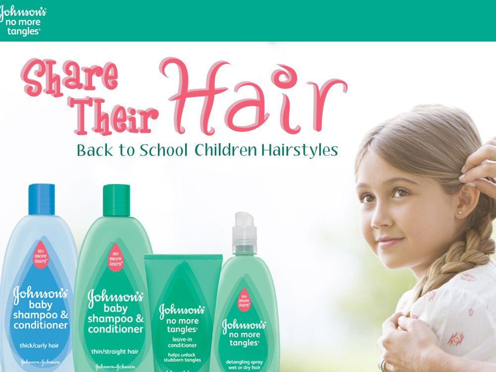 Johnson's & Johnson's Share Their Hair Sweepstakes