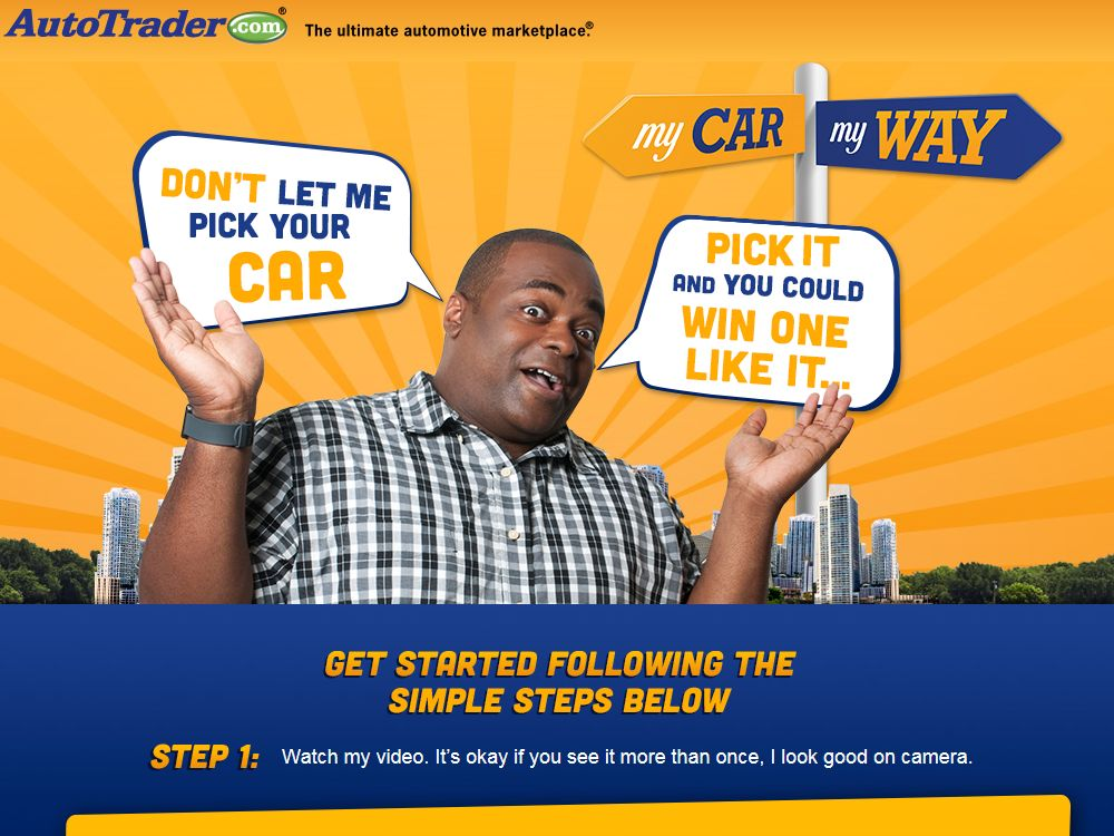 AutoTrader My Car My Way Sweepstakes