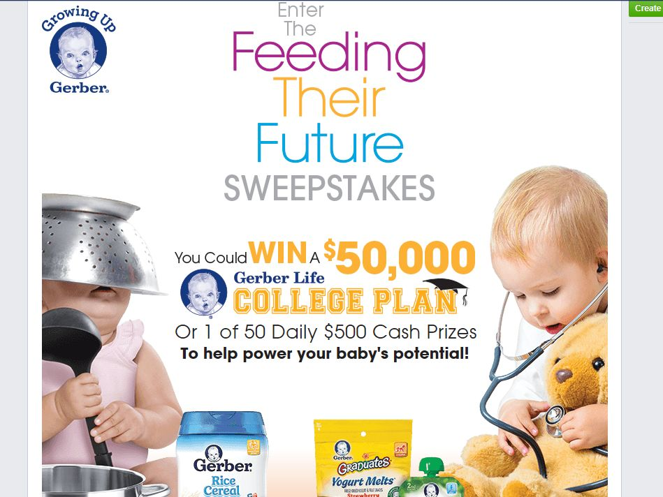 Gerber Feeding Their Future Sweepstakes