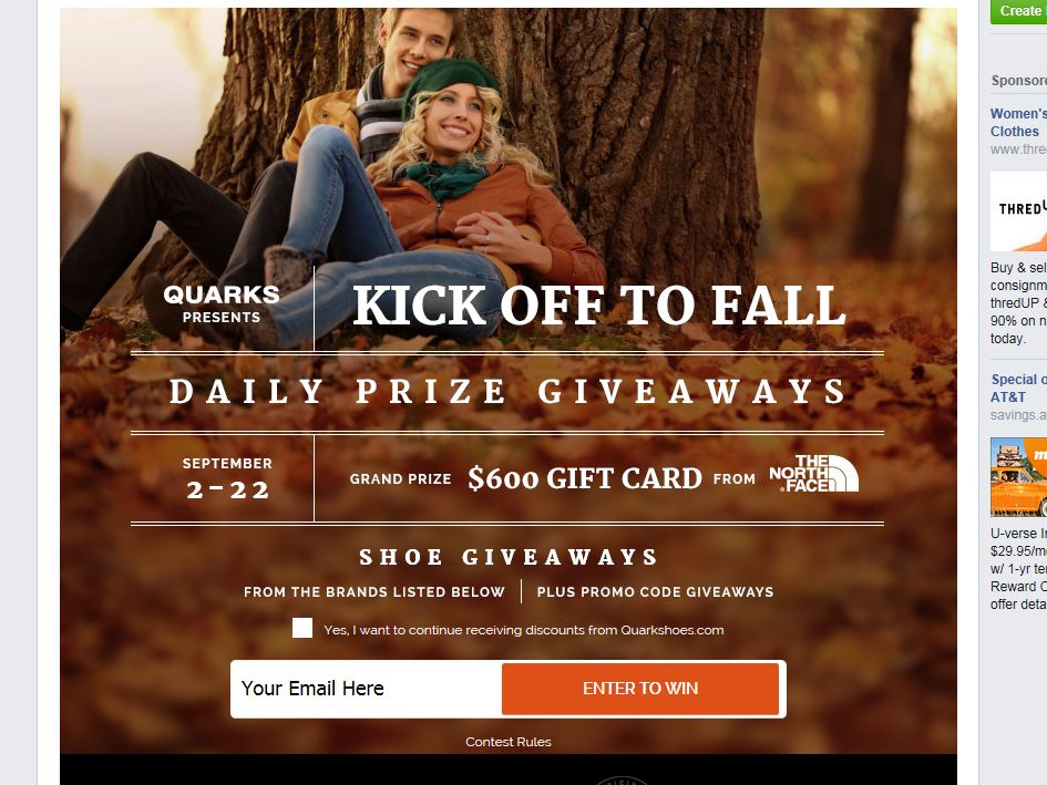 Quarks Kickoff To Fall Sweepstakes