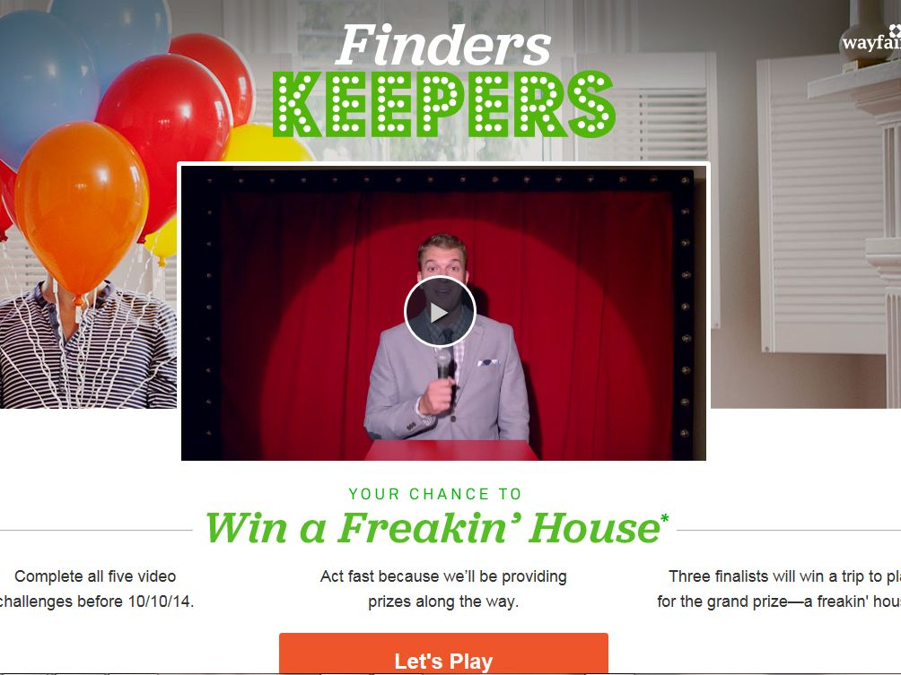Trulia's Finders Keepers Sweepstakes