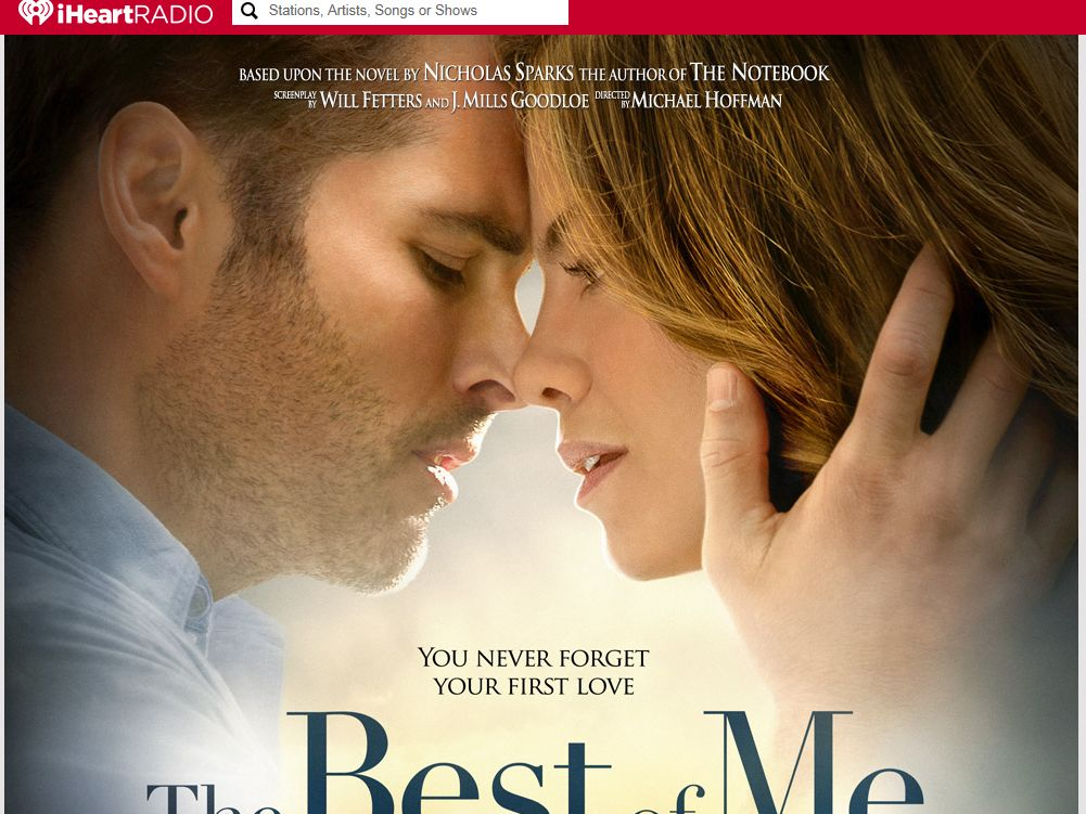 iHeartRadio The Best of Me Sweepstakes