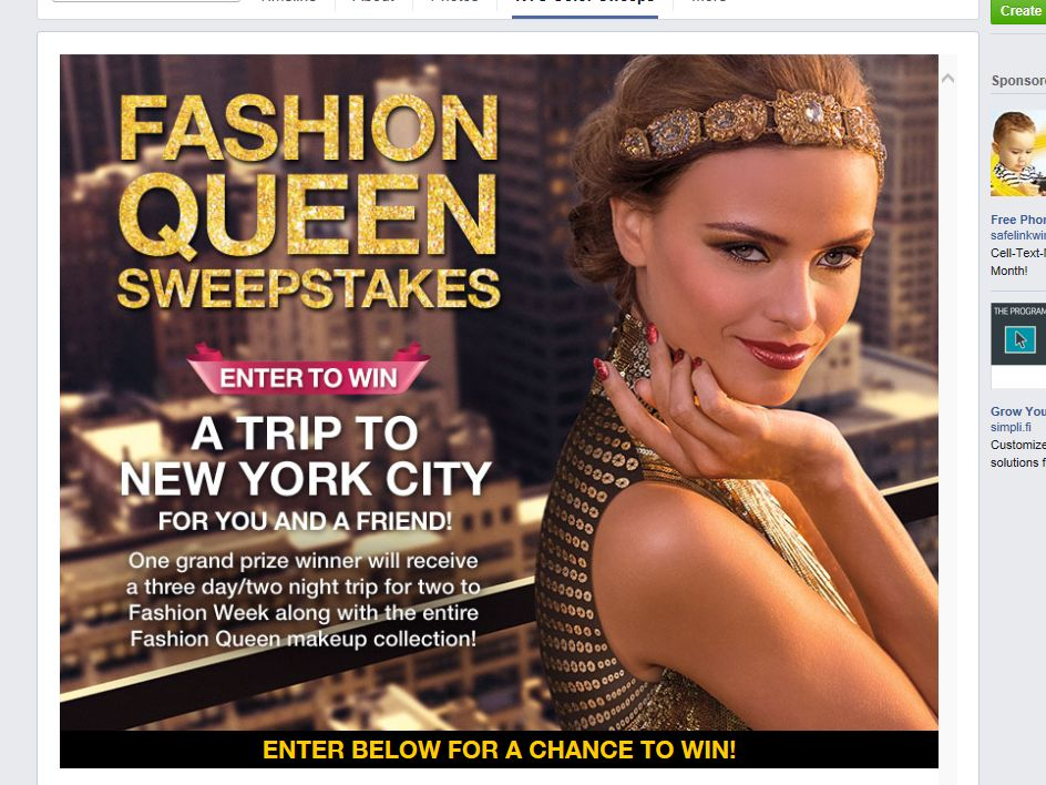 """NYC New York Color """"Fall Fashion Week"""" Sweepstakes"""
