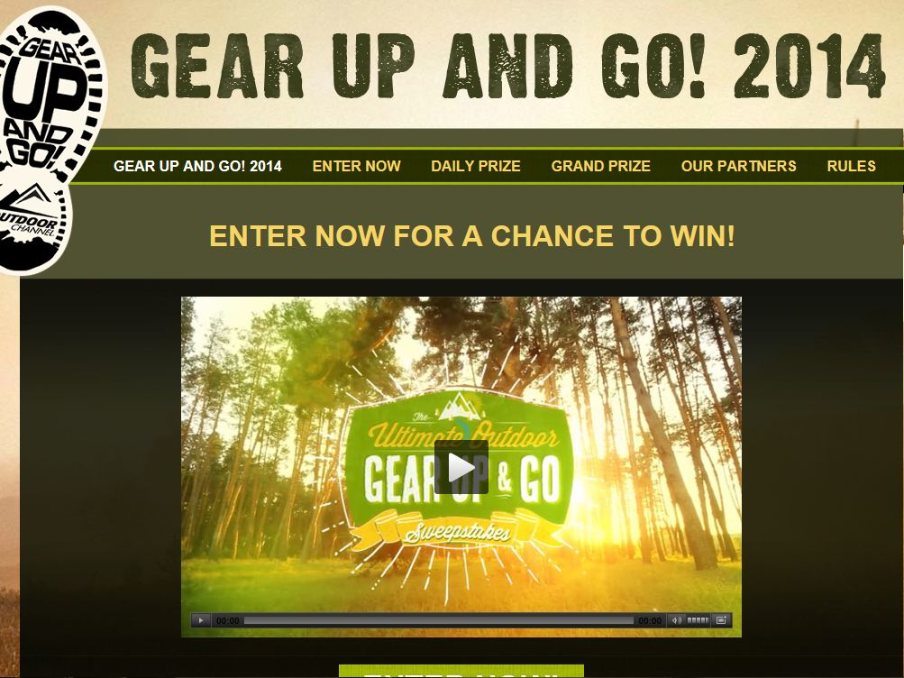 "The Outdoor Channel's ""Gear Up and Go"" Sweepstakes"