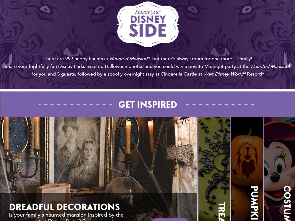 Haunt Your Disney Side Contest