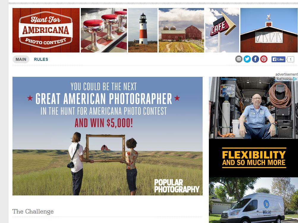 Hunt for Americana Photo Contest