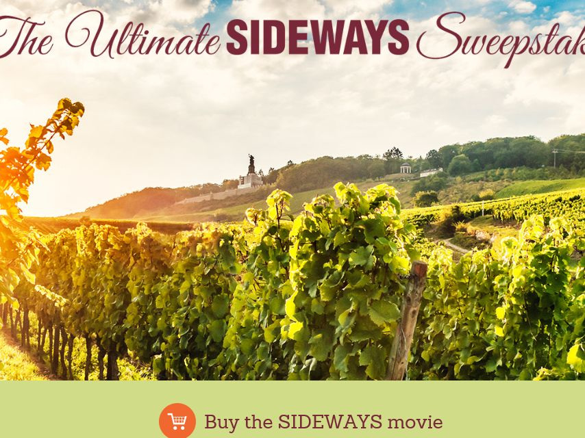Fox Searchlight Ultimate Sideways Sweepstakes