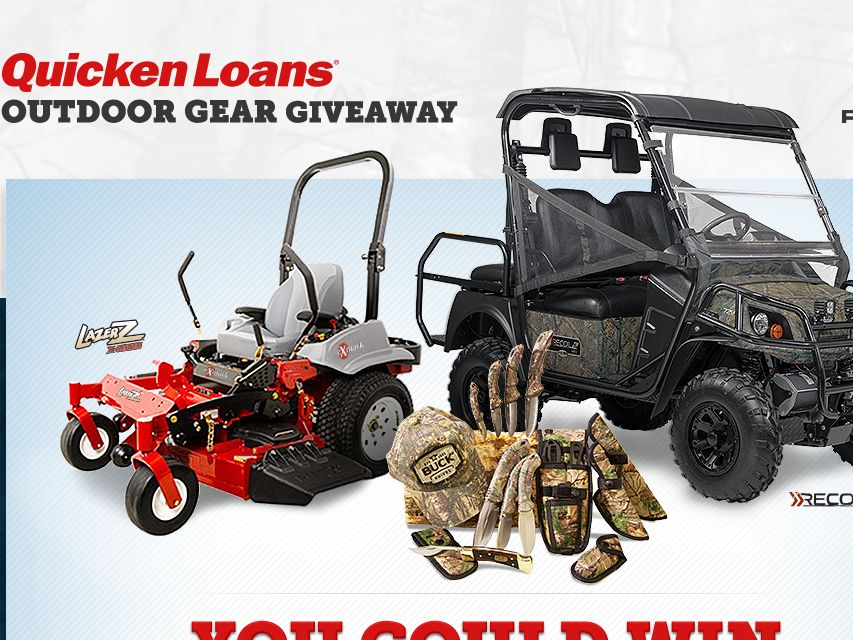 Quicken Loans Outdoor Gear Giveaway
