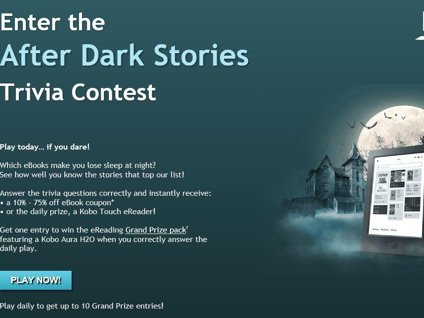 Kobo's After Dark Stories Trivia Contest
