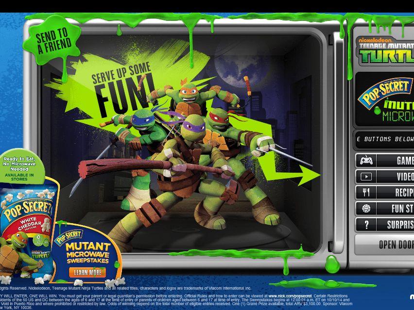 Pop Secret Mutant Microwave Sweepstakes
