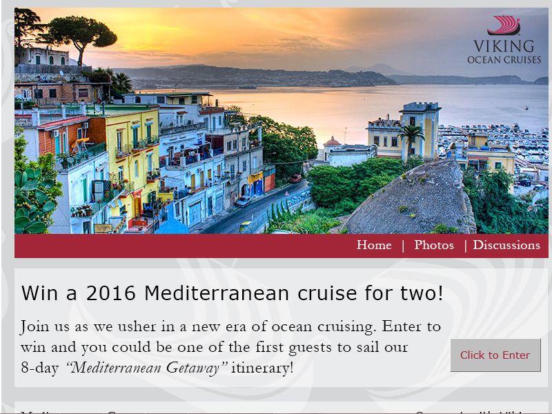 Viking Ocean Cruises Sweepstakes